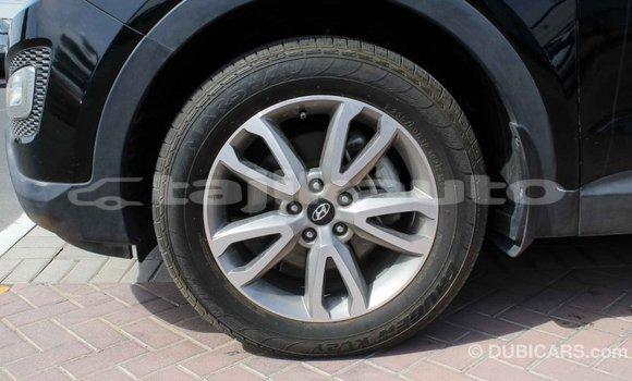 Buy Import Hyundai Santa Fe Black Car in Import - Dubai in Dushanbe